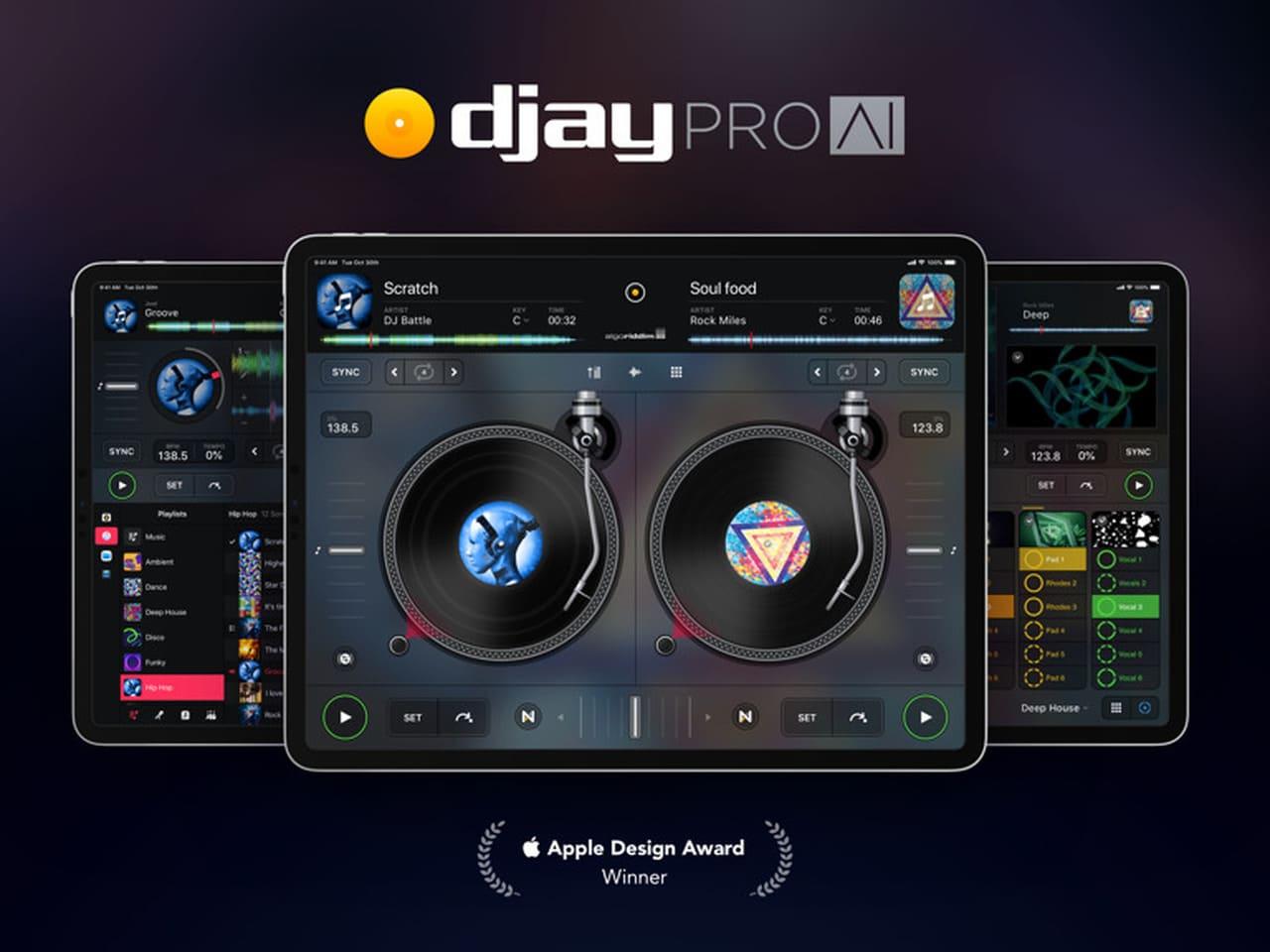 phần mềm dj điện thoại djaypro