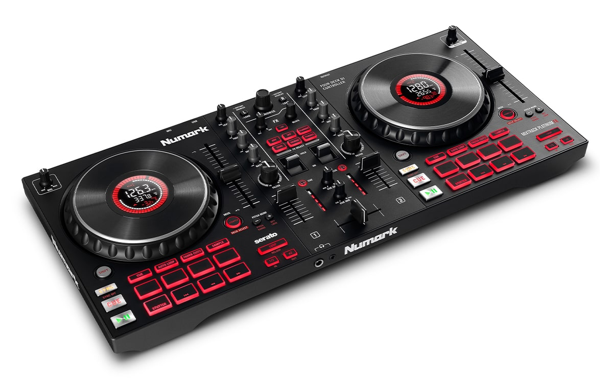 bàn dj mixtrack platinum fx