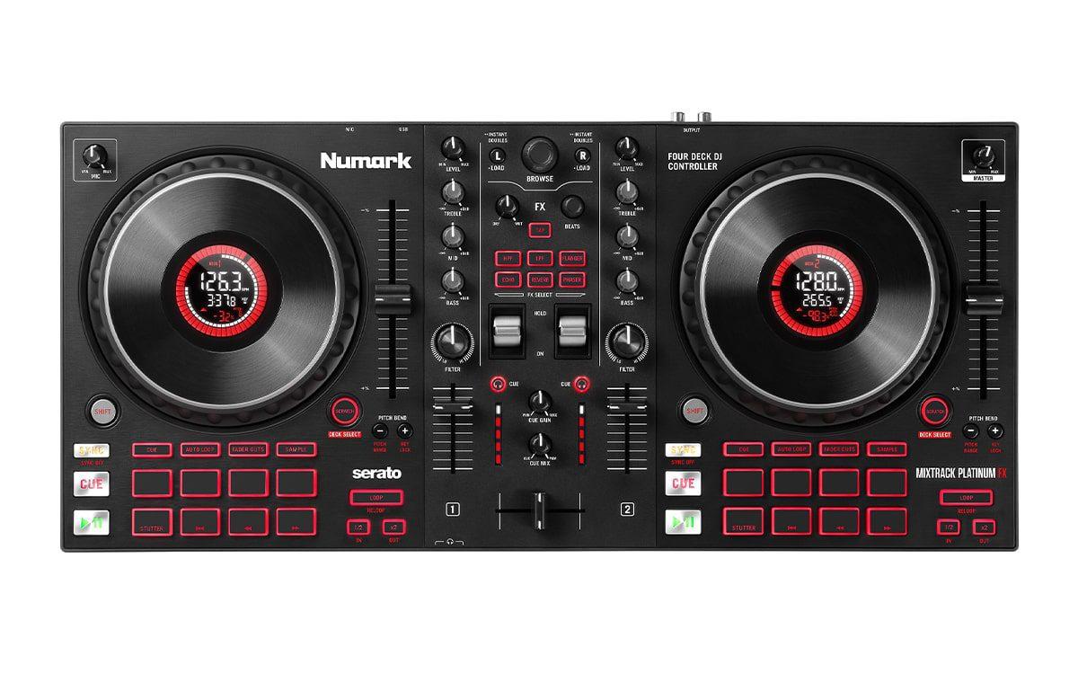 Numark Mixtrack Plaitnum FX
