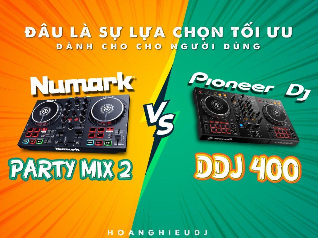 ddj 400 vs numark partymix ii
